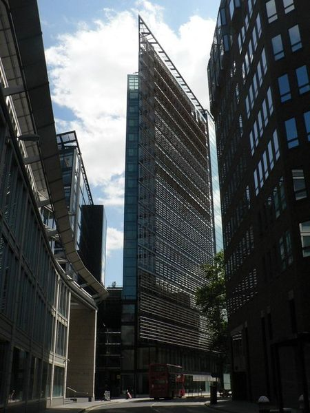 Deloitte building, Fetter Lane, London