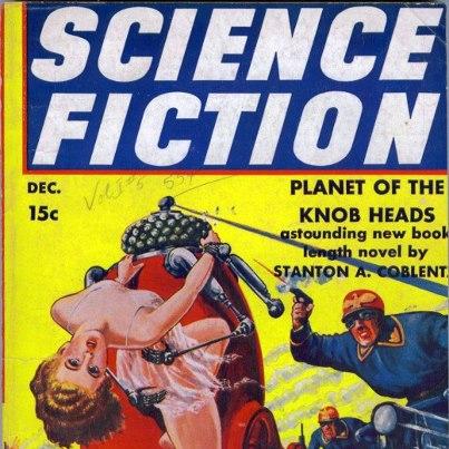 1950s pulp fiction shows robots in control